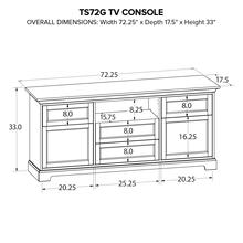 Howard Miller Custom TV Console TS72G