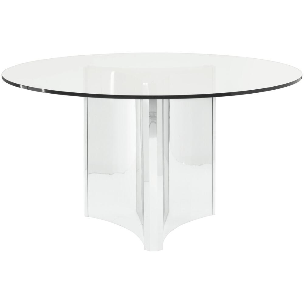Abbott Round Metal Dining Table