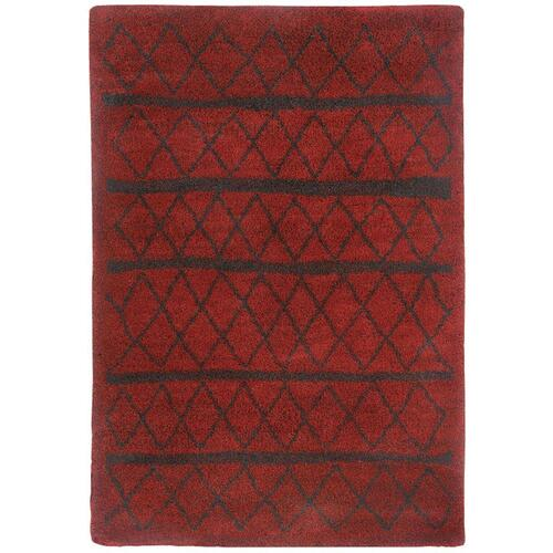 """Tangier Red - Rectangle - 3'11"""" x 5'6"""""""