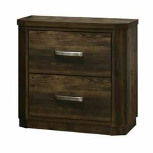 ACME Elettra Nightstand - 24853 - Rustic Walnut