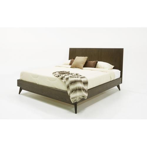 VIG Furniture - Modrest Novak Modern Dark Oak Bed