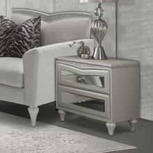 View Product - Upholstered Accent Cabinet-night Stand-end Table