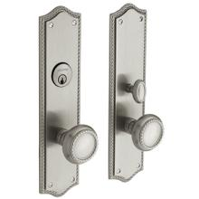 Satin Nickel with Lifetime Finish Barclay Entrance Trim