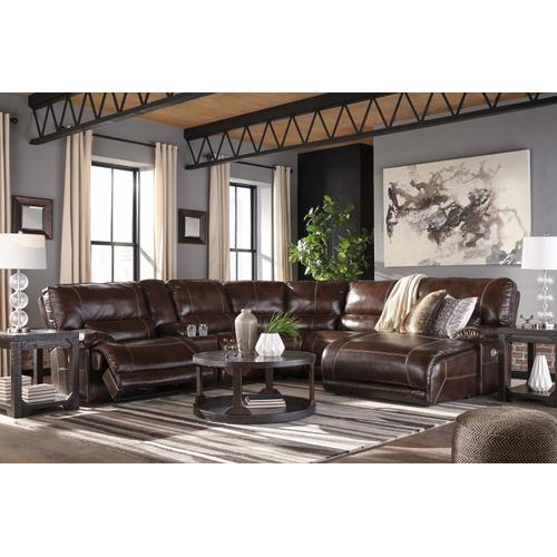 Killamey 6-piece Reclining Sectional With Chaise and Power