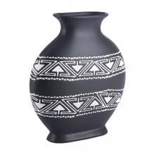 Medium Kolla Vase Black & White