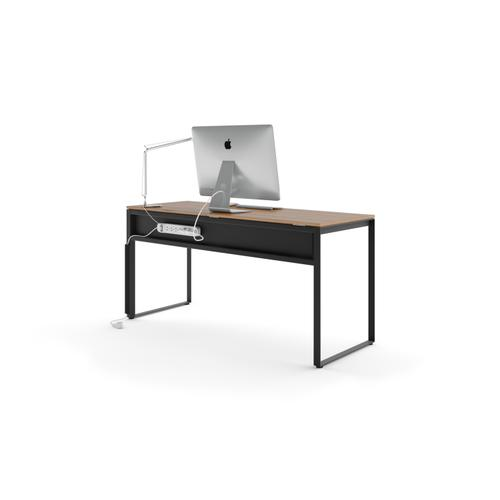 BDI Furniture - Linea 6223 Work Desk in Natural Walnut
