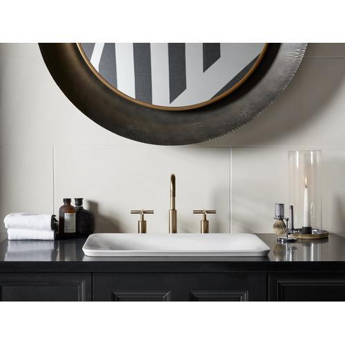 Herringbone Vessel Bathroom Sink
