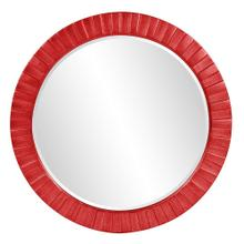 View Product - Serenity Mirror - Glossy Red