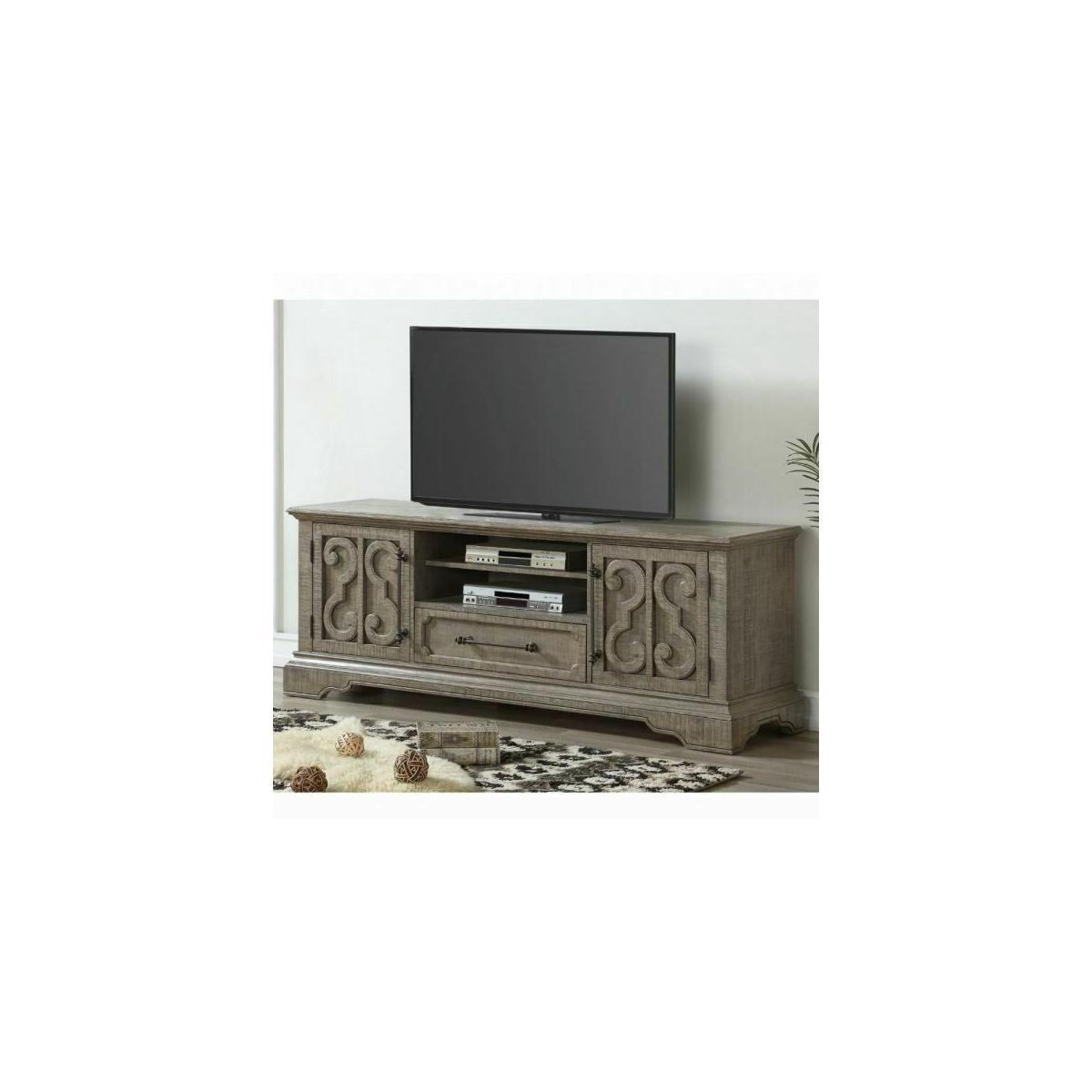 ACME Artesia TV Stand - 91765 - Salvaged Natural