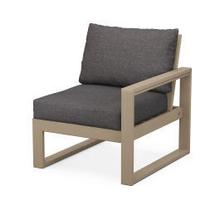 View Product - EDGE Modular Right Arm Chair in Vintage Sahara / Ash Charcoal