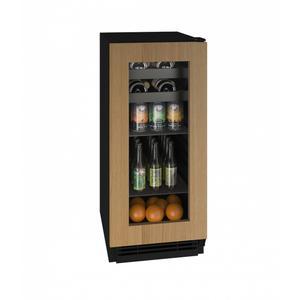 """U-LineHbv115 15"""" Beverage Center With Integrated Frame Finish (115v/60 Hz Volts /60 Hz Hz)"""