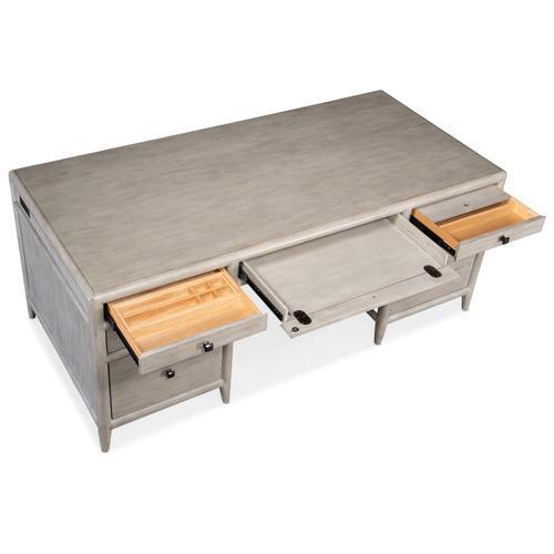 Hooker Furniture - Burnham Executive Desk