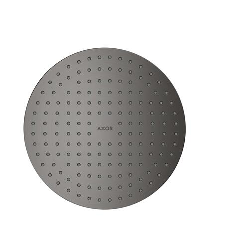 Brushed Black Chrome Overhead shower 250 1jet ceiling