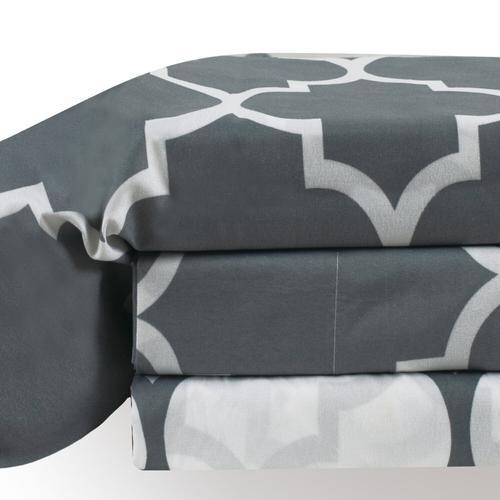 Holbrooke Sheet Set - Double / Grey
