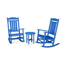 View Product - Presidential 3-Piece Rocker Set in Pacific Blue