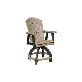 Comfo Back Swivel Counter Chair