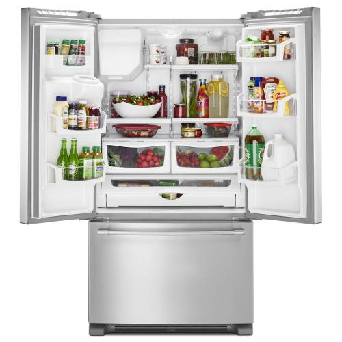 Maytag Canada - Maytag® 36- Inch Wide French Door Refrigerator with PowerCold® Feature - 25 Cu. Ft.