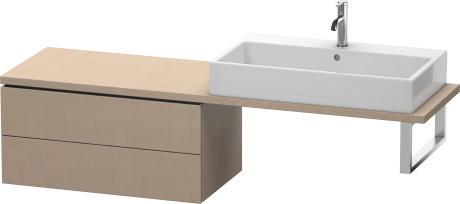 Low Cabinet For Console Compact, Linen (decor)