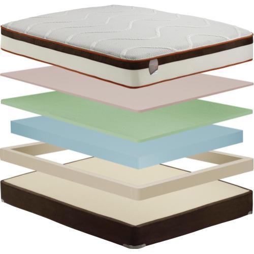 Comforpedic - Comforpedic - Loft Collection - Smooth Comfort - Luxury Firm - Queen