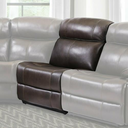 Parker House - ECLIPSE - FLORENCE BROWN Armless Chair