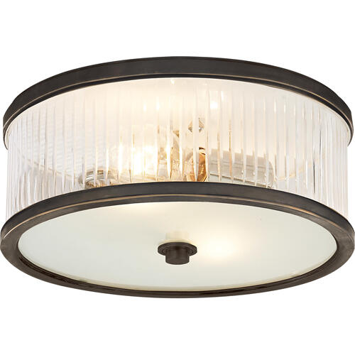 Alexa Hampton Randolph 2 Light 14 inch Bronze Flush Mount Ceiling Light