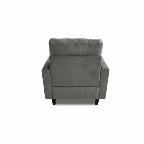 ACME Nate Chair - 50242 - Gray Fabric