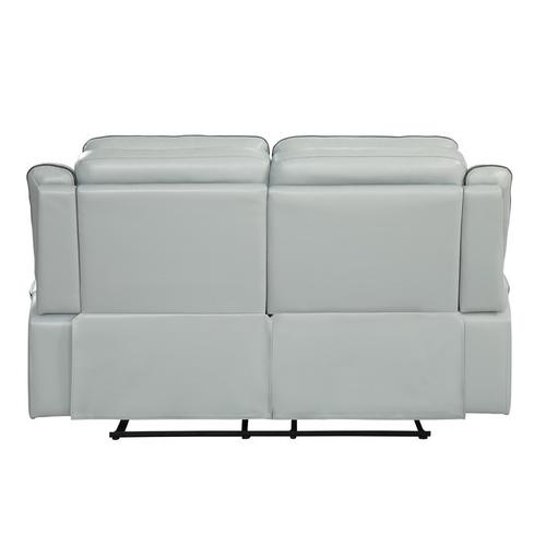 Homelegance - Double Lay Flat Reclining Love Seat