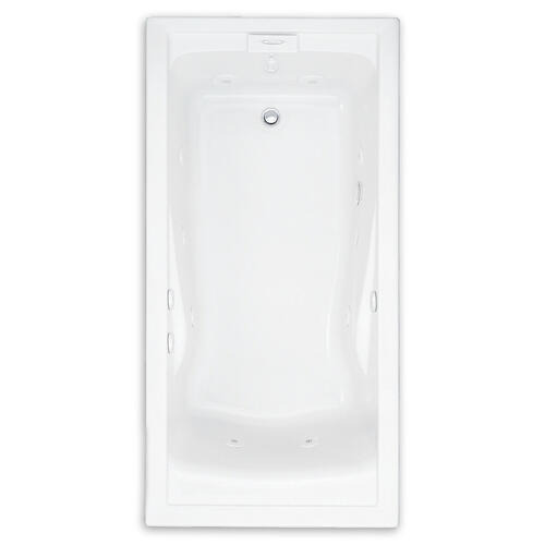 American Standard - Evolution 60x36 inch Deep Soak EverClean Whirlpool - White