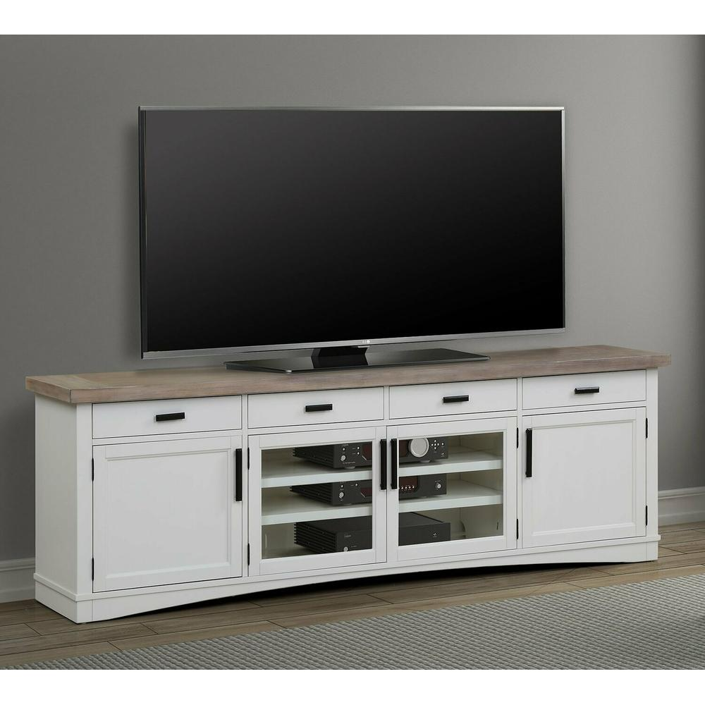 See Details - AMERICANA MODERN - COTTON 92 in. TV Console
