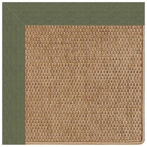 "Capel Rugs - Islamorada-Basketweave Canvas Fern - Rectangle - 24"" x 36"""