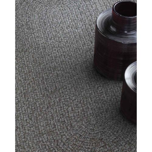 """Capel Rugs - Heathered Grey - Vertical Stripe Rectangle - 20"""" x 30"""""""
