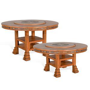 "Sunny Designs - Sedona 60""R Table w/ Lazy Susan"
