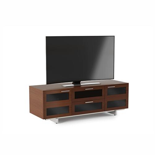 Triple Width Cabinet 8927 in Chocolate Stained Walnut