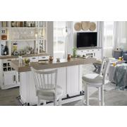AMERICANA MODERN DINING Bar Complete 78 in. with quartz Product Image