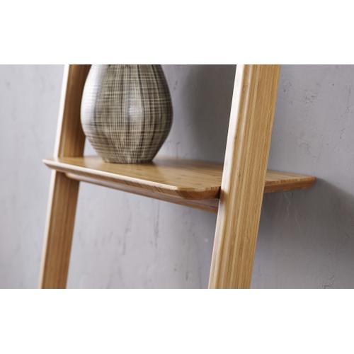Greenington Fine Bamboo Furniture - Currant Leaning Bookshelf, Caramelized