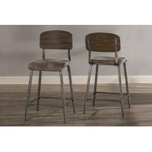 See Details - Adams Non Swivel Counter Stool - Set of 2
