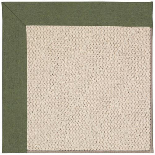 Creative Concepts-White Wicker Canvas Fern Machine Tufted Rugs
