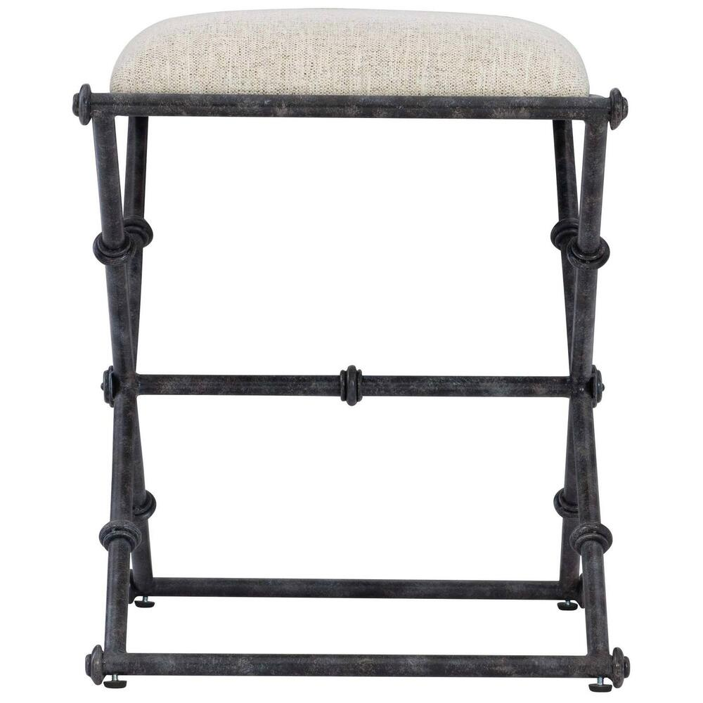Mirabelle Metal Bench in Carbon (304)