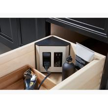 Black In-drawer Electrical Outlets for Vanities