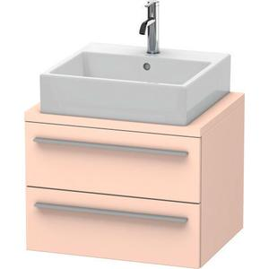 Vanity Unit For Console Compact, Apricot Pearl Satin Matte (lacquer)