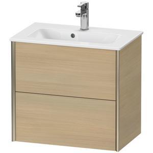 Duravit - Vanity Unit Wall-mounted Compact, Mediterranean Oak (real Wood Veneer)