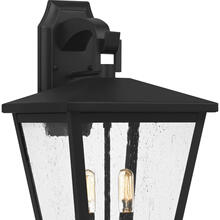 View Product - Joffrey Outdoor Lantern in Matte Black