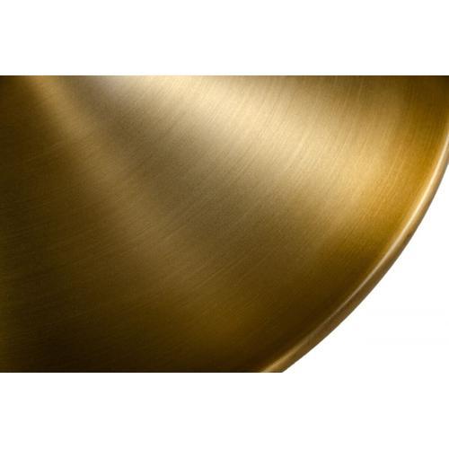 VIG Furniture - Modrest Collins - Glam White Marble & Gold End Table