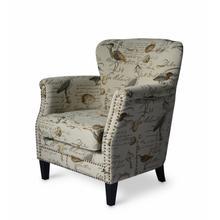 Phoebe Accent Chair - Cream