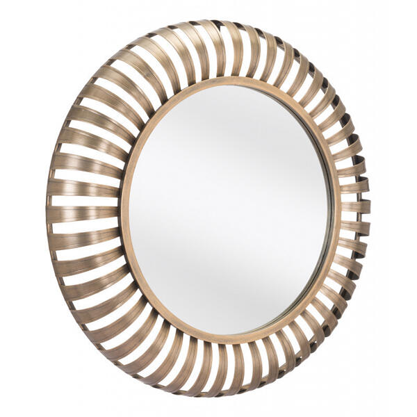 Fallon Mirror Gold