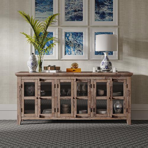 Jofran - Rustic Shores 6 Door Low Cabinet