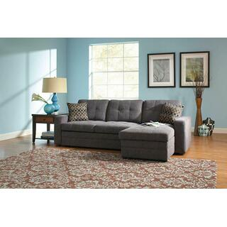 See Details - Gus Casual Charcoal Sectional