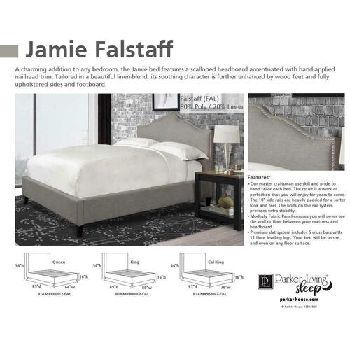 JAMIE - FALSTAFF Queen Headboard 5/0 (Grey)
