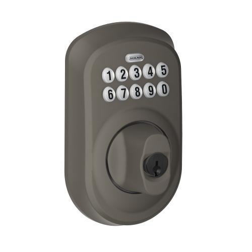 Plymouth Trim Keypad Deadbolt - Oil-Rubbed Bronze