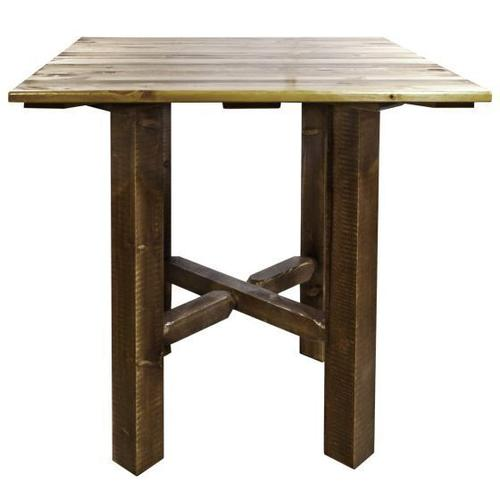 Montana Woodworks - Homestead Collection Bistro Table, Stain and Lacquer Finish